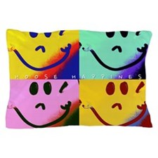 Choose Happiness Pillow Case