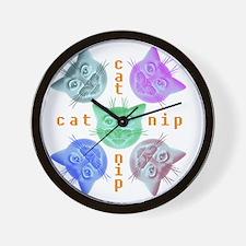 Kitties hours Wall Clock