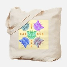 Kitties high on catnip Tote Bag