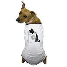 Cat World Domination Dog T-Shirt