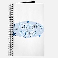 """Literary Diva"" [blue] Journal"