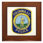 Columbia Police Framed Tile