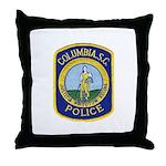 Columbia Police Throw Pillow