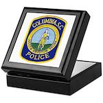 Columbia Police Keepsake Box