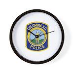 Columbia Police Wall Clock