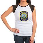 Columbia Police Women's Cap Sleeve T-Shirt
