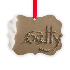salty sepia Ornament