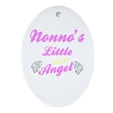 Nonno's Angel (Girl) Keepsake Ornament