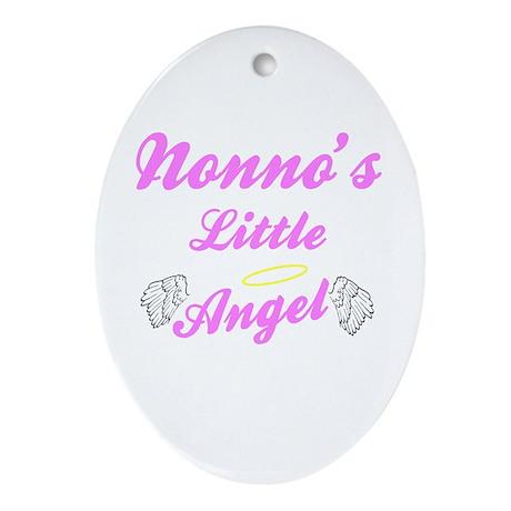Nonno's Angel (Girl) Keepsake Ornament