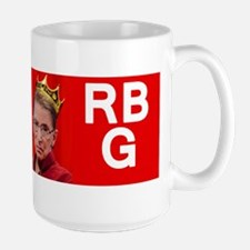Notorious RBG magnet Large Mug