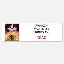 AWAKEN CURIOSITY-READ! Bumper Bumper Bumper Sticker