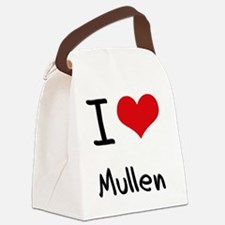 I Love Mullen Canvas Lunch Bag