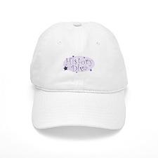 """History Diva"" [purple] Baseball Cap"