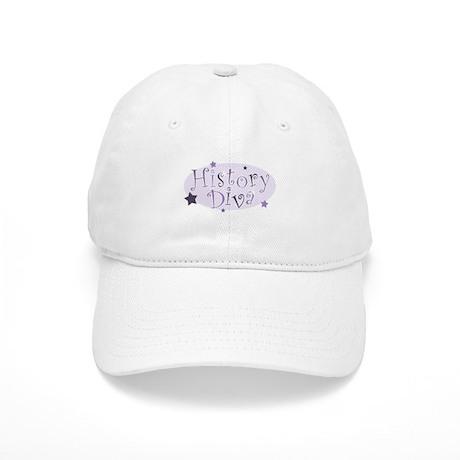 """History Diva"" [purple] Cap"