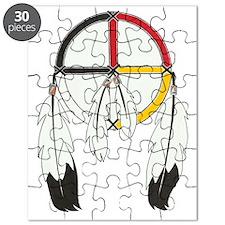 Feathered Medicine Wheel Puzzle