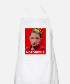 Notorious RBG Poster Apron
