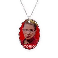 Notorious RBG Poster Necklace
