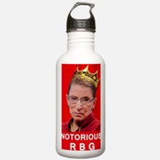 Notorious RBG Poster Water Bottle