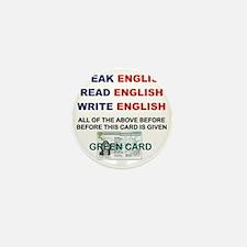 SPEAK ENGLISH READ ENGLISH WRITE ENGLI Mini Button