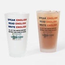 SPEAK ENGLISH READ ENGLISH WRITE EN Drinking Glass