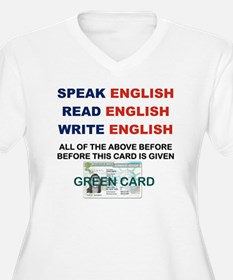 SPEAK ENGLISH REA T-Shirt