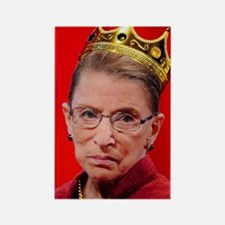Notorious RBG Small Square Rectangle Magnet