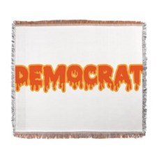 For Halloween Im A Democrat. Now Sh Woven Blanket