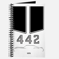 Olds 442 silhouette, logo & stripes Journal