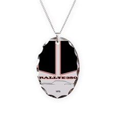 Olds Rallye 350 silhouette, lo Necklace