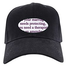 gay marriage support Baseball Hat
