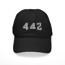 Cutlass Silhouette - 442 logo up Baseball Hat