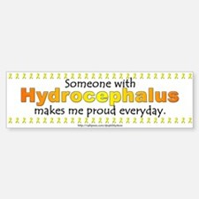 Hydrocephalus Pride Bumper Bumper Bumper Sticker
