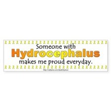 Hydrocephalus Pride Bumper Bumper Sticker