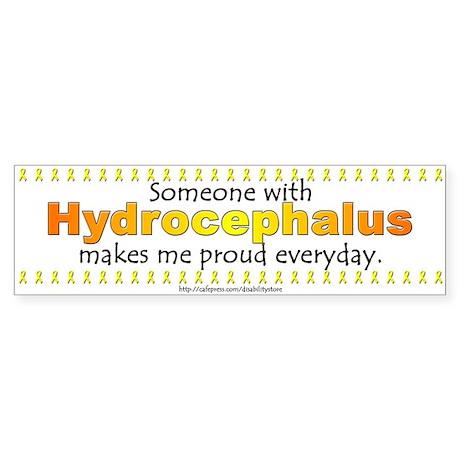 Hydrocephalus Pride Bumper Sticker