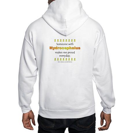 Hydrocephalus Pride (backprint) Hooded Sweatshirt
