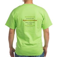 Hydrocephalus Pride (backprint) T-Shirt