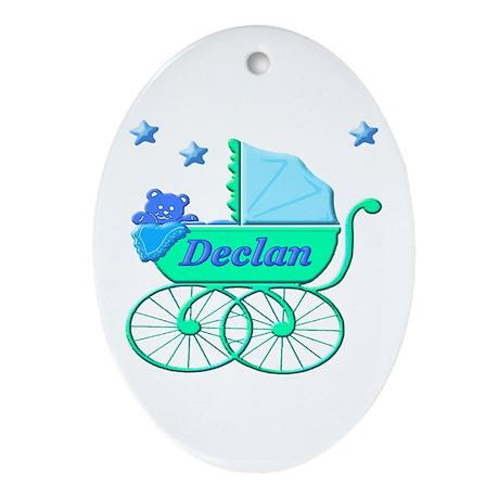 Declan's Ride Oval Ornament