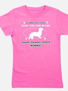 Dandie Dinmont Terrier Mommies Designs Girl's Tee