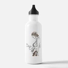 Base Guitarist. Water Bottle