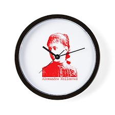 Alexandra Kollontai Wall Clock