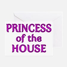 PRINCESS OF THE HOUSE 2 Greeting Card