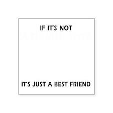 "If its not a Finnish Spitz  Square Sticker 3"" x 3"""