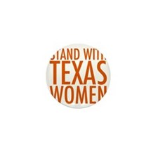standwithtexasorange Mini Button