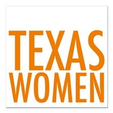 """Stand with Texas Women Square Car Magnet 3"""" x 3"""""""
