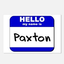 hello my name is paxton  Postcards (Package of 8)