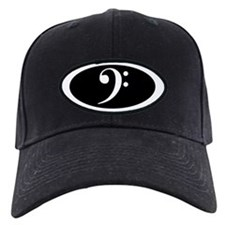 Bass Clef Cap (black)