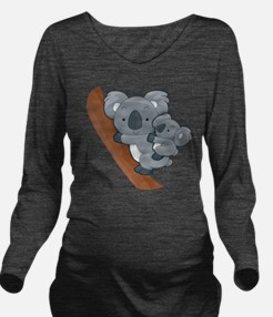 Two Koalas Long Sleeve Maternity T-Shirt