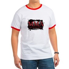 MMA we dont Play logo T-Shirt