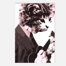 Cat Music Style Postcards (Package of 8)