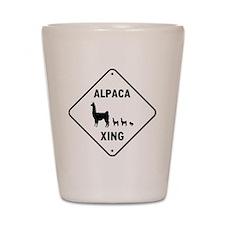 Alpaca Xing Shot Glass